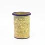 Avtryck - vas gul - H 17 cm D 13 cm