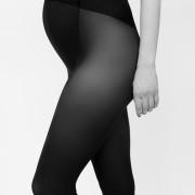 Strumpbyxa Matilda för gravida - färg svart