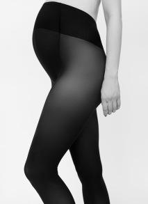 Strumpbyxa Matilda för gravida - färg svart - Small