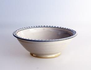 Prick - handdrejad skål -