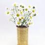 Avtryck - vaser gula