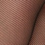 Strumpbyxa Elvira - nät färg svart