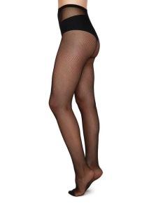 Strumpbyxa Elvira - nät färg svart - Extra large