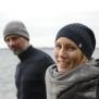 Mössa Grå/Stengrå ull