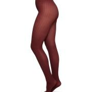 Strumpbyxa Alma ribb - färg vinröd