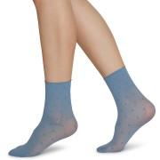 Socka Judith 2-pack ljusblå/elfenben