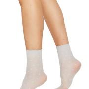 Socka Judith 2-pack ljusgrå/elfenben