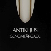 Antikljus 26cm i ask 10-pack vita