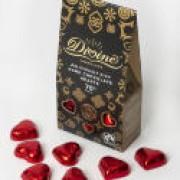 Choklad hjärtan - mörk vegan
