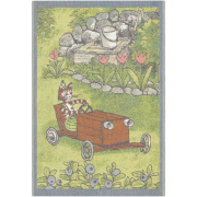 Bebisfilt Lådbil Pettson & Findus