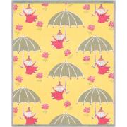 Bebisfilt Umbrella Lilla My