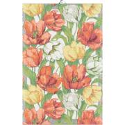 Handduk Blommande tulpaner