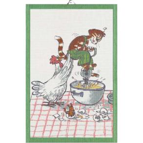 Pettson & Findus handduk Vispar - Handduk Vispar Pettson & Findus