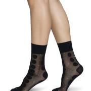Socka Viola Dot svart