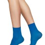 Socka Judith 2-pack cream/blå - One size