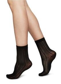 Socka Klara - svart - One size