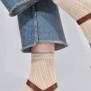 Socka Klara - ivory
