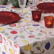 Bordsduk Floral blad och blommor