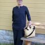 Pako bambuväska & the Black bag