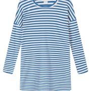 Klänning blå/vit randig