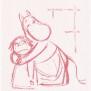 Mumin handduk Generous - Handduk Generous Mumin