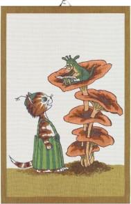 Pettson & Findus handduk Pyret - Handduk Pyret Pettson & Findus