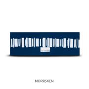 Reflexpannband Havsblå Norrsken