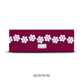 Reflexpannband Burgundy Hjortron - Reflexpannband Burgundy Hjortron S-M