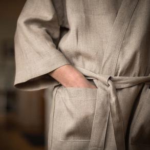 Kimono Natur hellinne -