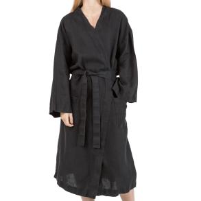 Kimono Svart hellinne -