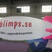 Zeppelinare 5-9 meter i längd
