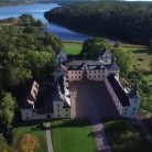 Flygfoto slottet