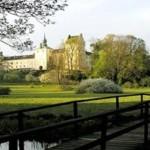 Tyresö slott vy från Notholmen
