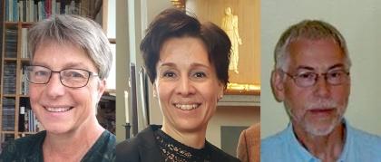 Elisabeth Nygårdh Lundhag, Maria Stiberg och Max Thoursie