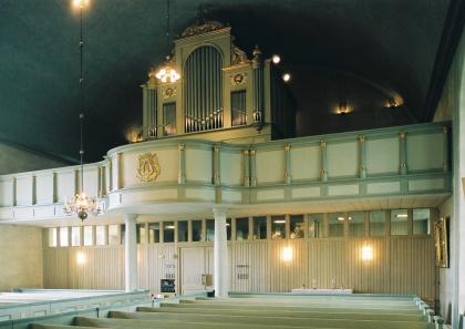 Ströms orgel. foto Martin Lagergren