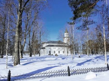 Tåsjö kyrka. foto Gunnar Westman