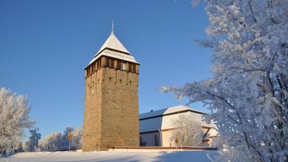 Brunflo kyrka. foto Hans-Åke Grinde