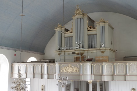 Orgelfasaden Aspås. foto Michael Eriksson