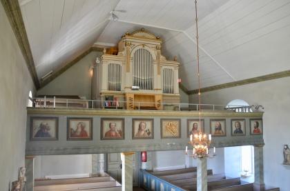 Orgelfasaden, Mattmar. foto Håkan Dahlén