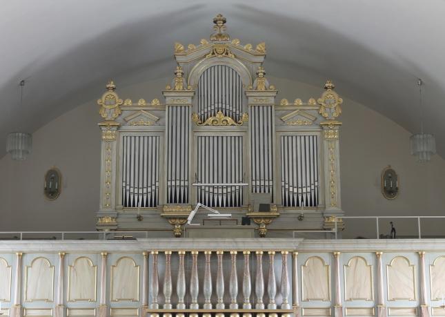 Orgel Ragunda nya kyrka. foto Michael Eriksson