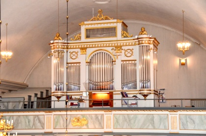 Orgel Svegs kyrka. foto Håkan Dahlén