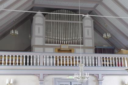 Orgel Marieby kyrka. foto Michael Eriksson