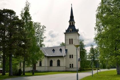 Marieby kyrka. foto Hans-Åke Grinde