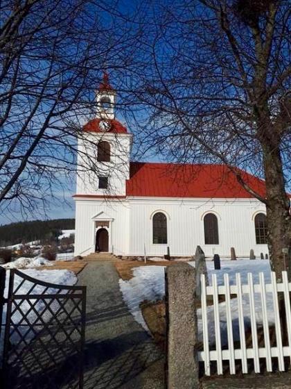Klövsjö kyrka. foto Julian Bishakwe