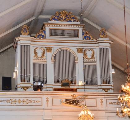 Orgeln Kalls kyrka
