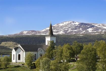 Kalls kyrka. foto  Sven-Erik Jönsson