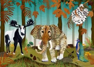 Forest Utopia Print 50x70 -