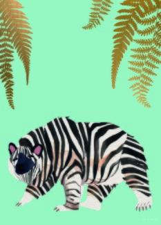 Zebear| Ethnicity | Print -