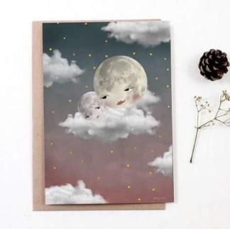 Baby moon Pink | Kort - Baby moon Pink | Kort