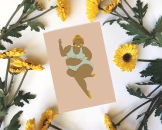 Body Positive Kort | Josy - Body Positive Kort | Josy a5